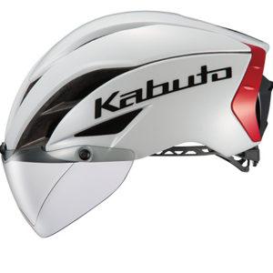 話題のKabutoのエアロヘルメット